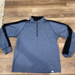 Hawke and Co half zip
